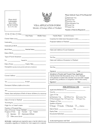 s visas visa application form the royal thai embassy in abuja will not accept visa applications through postal mail