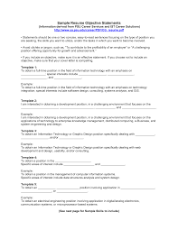 examples of a objective for a resume template examples of a objective for a resume