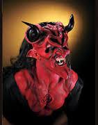 latex prosthetic devil demon dark lord red makeup kit reel f x