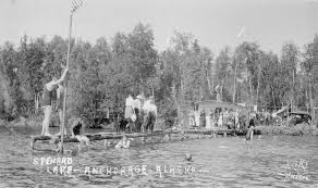 spenard joseph a joe alaska history another view of the lake spenard waterfront