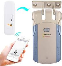 Simlug Smart Door Lock, Wireless Invisible Keyless ... - Amazon.com