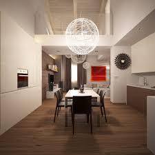 maple kitchen floor contemporary modern apartment kitchen design dark leather dining chair mesh globe p