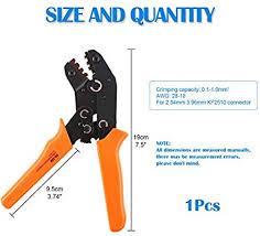 Glarks <b>SN</b>-<b>28B Dupont</b> Terminal Professional Pin <b>Crimping Tool</b> for ...