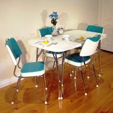 Ebay Dining Room Sets Images Fascinating 1960s Retro Kitchen Table And Chair Chrome