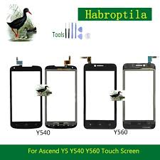 <b>10Pcs</b>/lot 4.5 <b>Touchscreen</b> Panel For <b>Huawei</b> Ascend Y5 Y540 Y560 ...