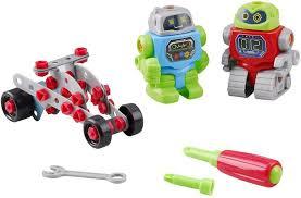 <b>PlayGo</b> Развивающая игрушка <b>Собери</b> робота — купить в ...