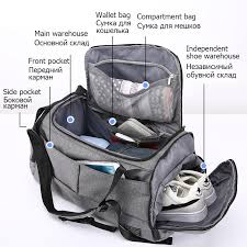 15 inch <b>Gym Bag</b> Multifunction Men Sports <b>Bags Woman Fitness</b> ...
