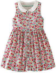 Amazon.com: Fashion Short Sleeve Sundress <b>Floral</b> Doll Collar ...