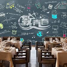 Wall Mural Retro Nostalgia Wallpaper Blackboard ... - Amazon.com