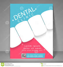 dental clinic flyer template or brochure stock photo image dental clinic flyer template or brochure