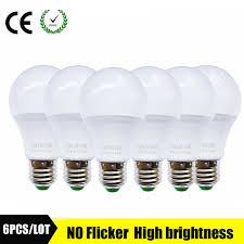 LED Lamp <b>E27 220V LED Bulb</b> SMD2835 led Light bulb B22 Real ...
