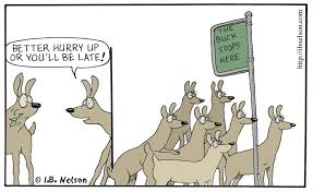 Image result for where the buck stops