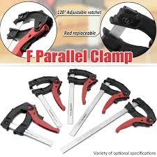 90x 100/160/200/250/300mm <b>Adjustable</b> Quick Grip Clamps ...