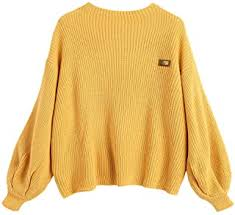 Yellow - Sweaters / Women: Clothing & Accessories - Amazon.ca