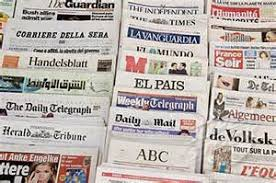 Risultati immagini per quotidiani esteri