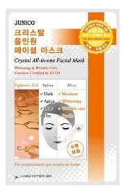 <b>Маска тканевая c гиалуроновой</b> кислотой Junico Crystal All-In ...