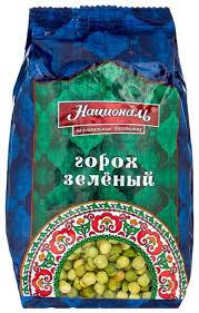 Националь <b>горох колотый зеленый</b>, 450 г — купить по выгодной ...