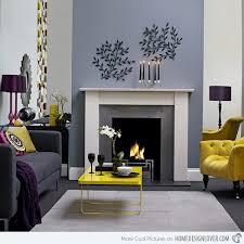 modern chic designs chic yellow living room