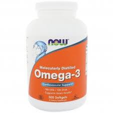 Now Foods, <b>Омега</b>-<b>3</b>, <b>180 ЭПК/120 ДГК</b>, 500 мягких таблеток ...