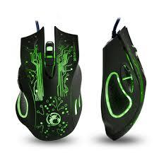 <b>Игровая мышь</b> IMICE X9 оптическая USB - Черная