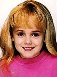 ... who died in a 1992 car accident at the age of 22 with her boyfriend Matthew Derrington. - jon-benet-ramsey-3-sized