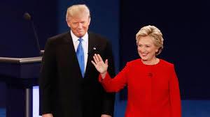 Image result for trump clinton debate