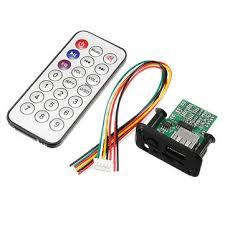<b>3pcs DC 5V</b> 12V 3W+3W Dual Channel Mini MP3 Decoder Board ...
