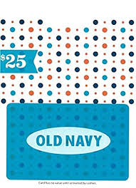 Old Navy $25 Gift Card: Gift Cards - Amazon.com