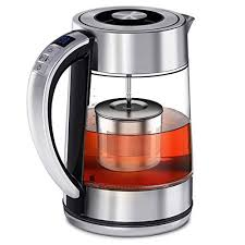 FEBOTE Electric <b>Tea</b> Kettle, 2 in 1 Glass Kettle Teapot With <b>Infuser</b> ...