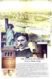 tesla memorial society of new york statue of liberty honors nikola tesla
