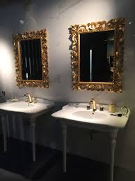 bathroom mirrors digihome white cream beautiful artistic thick wavy glass vessel sink for modern gold bathro