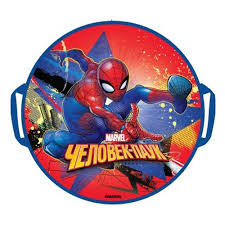 <b>Ледянка</b> 1Toy <b>Marvel Человек</b>-<b>Паук</b> 52 см, круглая — купить в ...