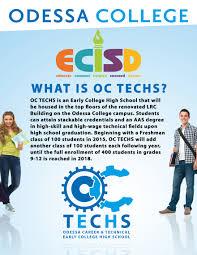 odessa college oc techs odessa career technical early college high school