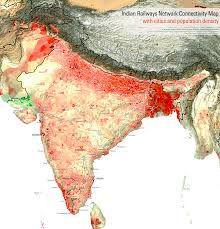 railway map population density travel inspiration railway map population density