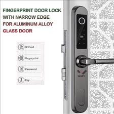 WAFU <b>Waterproof Fingerprint Door</b> Lock with Narrow Edge for ...