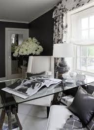 1000 ideas about black office on pinterest drafting chair executive office and office chairs black and white office design