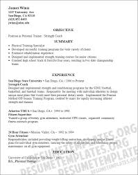 personal trainer resume examples    certified personal trainer    sample resume personal trainer resume template builder sle  fitness