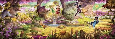 <b>Фотообои</b> фотошпалери Komar 4-416 <b>Disney Fairies</b> Forest Лес ...