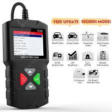 YA201 OBD2 Scanner Live Data OBD2 Fault Code Reader Multi ...