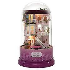 <b>CUTEBEE</b> DIY <b>Dollhouse</b> Miniature Kit &Toys, 3D Wooden Dolls ...