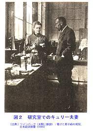 「1898年 - キュリー夫人がラジウムを発見。」の画像検索結果