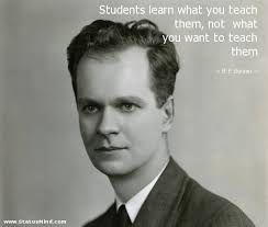 B. F. Skinner Quotes at StatusMind.com