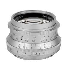 <b>Объектив 7Artisans</b> 35mm F1.2 <b>Sony E Mount</b> Серебро — купить в ...