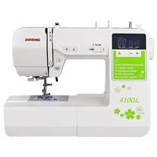 <b>Швейная машина Janome 4100L</b> белый