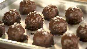 Coconut And <b>Dark Chocolate Bites</b> With <b>Sea</b> Salt | Tastemade