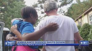 workers customers react as nc s largest private ambulance service workers customers react as nc s largest private ambulance service shuts down wncn