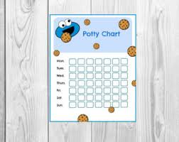 Potty training Elmo Printable Sesame Street Reward system