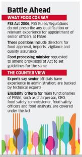 fssai has put sector at risk packaged food companies to harsimrat fssai has put sector at risk packaged food companies to harsimrat kaur badal retail news et retail