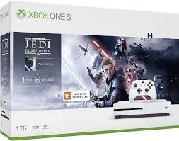 <b>Игровая приставка Microsoft Xbox</b> One S 1Tb White + игра Star ...
