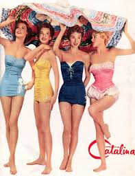 Image result for swimming 1950's photos